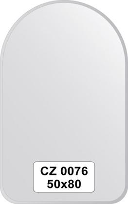 Зеркало для ванной 50x80см с фацетом 10мм FBS CZ 0076
