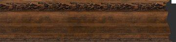 Зеркало с фацетом в багетной раме 62x82см состаренная бронза с орнаментом 120мм Evoform BY 3403
