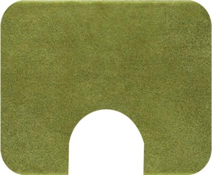 Коврик с вырезом под туалет 50x60см зелёный Grund COMFORT WC 2399.06.4227