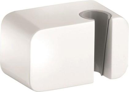 Соединение для шланга с настенным держателем для душа, белый Kludi A-QA 6556043-00