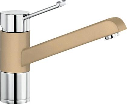 Смеситель однорычажный для кухонной мойки, хром / шампань Blanco ZENOS 517810