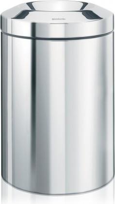 Несгораемая корзина для бумаг 7л сталь полированная Brabantia 378928
