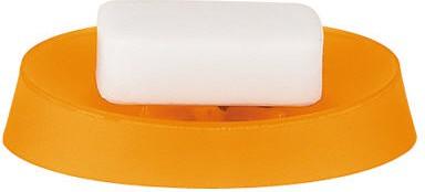 Мыльница пластиковая оранжевая Spirella MOVE 1010472