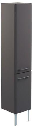 Шкаф-пенал напольный, 1 дверь, 1 корзина, правый, 35x34x186см Verona Moderna MD313R