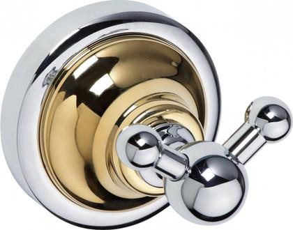 Крючок двойной, золото-хром Bemeta 144206038