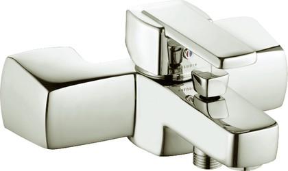 Смеситель однорычажный с изливом для ванны, хром Kludi Q-BEO 504430575