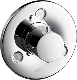 Запорный/переключающий вентиль для душа на 3 потребителя воды ¾', хром Hansgrohe AXOR Starck 10930000