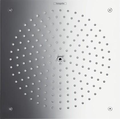 Верхний душ для скрытого монтажа на потолок, хром Hansgrohe Raindance Air 26472000