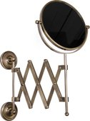 Зеркало косметическое настенное 2-х стороннее, бронза TW Bristol TWBR024br