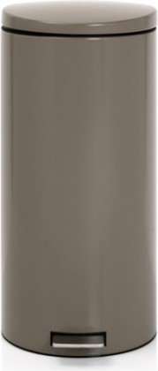 Мусорный бак 30л с педалью, MotionControl, серый Brabantia 478925