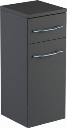 Шкаф средний 30см подвесной, 1 дверь, 1 ящик, правый 30х32х74см Verona Area+ AA402R