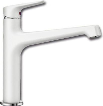 Смеситель кухонный однорычажный с высоким изливом, белый Blanco FELISA 520328