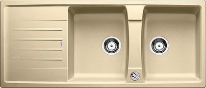 Кухонная мойка оборачиваемая с крылом, с клапаном-автоматом, гранит, шампань Blanco LEXA 8 S 514704
