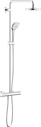 Душевая система с термостатом для настенного монтажа, хром Grohe EUPHORIA System 180 27615000