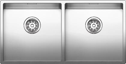 Кухонная мойка без крыла, нержавеющая сталь зеркальной полировки Blanco CLARON 400/400-U 517231