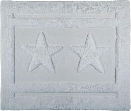 Коврик для ванной комнаты хлопковый 55x65см белый Spirella EMILY STAR 1017653