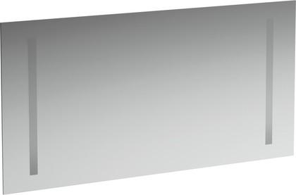 Зеркало 120x62см с двумя встроенными вертикально светильниками Laufen CASE 4.4726.2.996.144.1