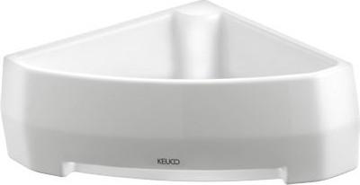 Фарфоровая угловая полочка для губки Keuco EDITION PALAIS 40058003000
