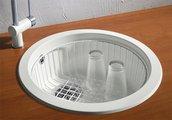 Кухонная мойка без крыла, гранит, белый Blanco RONDO 511621