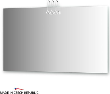 Зеркало 130х75см со светильниками Ellux CRY-C3 0216
