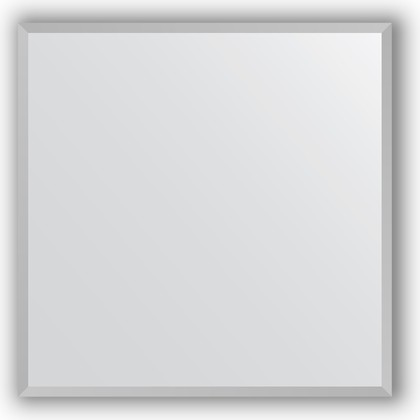 Зеркало в багетной раме 66x66см хром 18мм Evoform BY 3225
