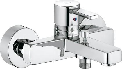 Смеситель для ванны однорычажный с изливом, хром Kludi ZENTA 386700575
