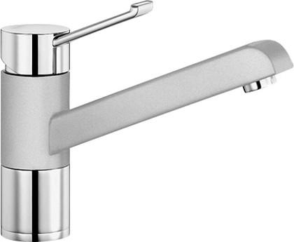 Смеситель однорычажный для кухонной мойки, хром / жемчужный Blanco ZENOS 520759