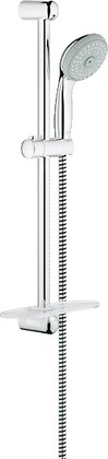 Душевой гарнитур, 4 вида струи, хром Grohe New TEMPESTA 100 28593001