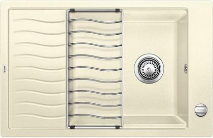 Кухонная мойка оборачиваемая с крылом, с клапаном-автоматом, гранит, жасмин Blanco ELON XL 6 S 518740