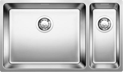 Кухонная мойка без крыла, основная чаша справа, нержавеющая сталь зеркальной полировки Blanco ANDANO 500/180-U 520826