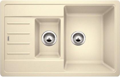 Кухонная мойка с крылом оборачиваемая, гранит жасмин Blanco LEGRA 6 S Compact 521305