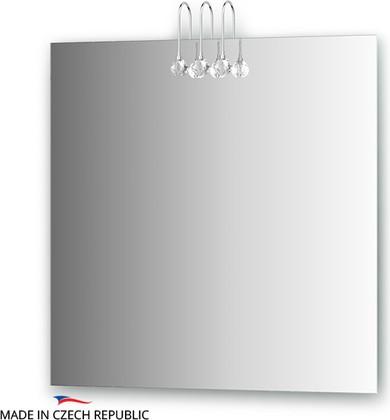 Зеркало 75х75см со светильниками Ellux CRY-C3 0210