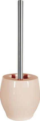 Ёрш с керамической подставкой песочного цвета Spirella BALI 1018165