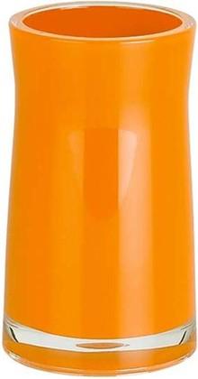 Стакан оранжевый Spirella SYDNEY Acrylic 1013625