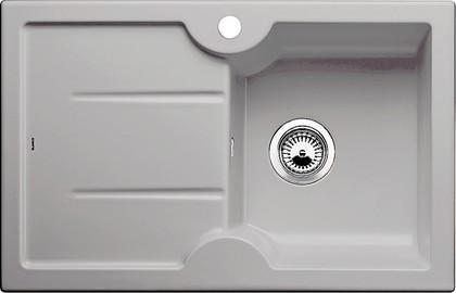 Кухонная мойка чаша справа, крыло слева, керамика, серый алюминий Blanco IDESSA 45 S 514496