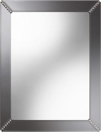 Зеркало 65x80см с фацетом и окантовкой-рамой из графитного зеркала с крупными стразами Dubiel Vitrum SYRIUSZ 5905241000930
