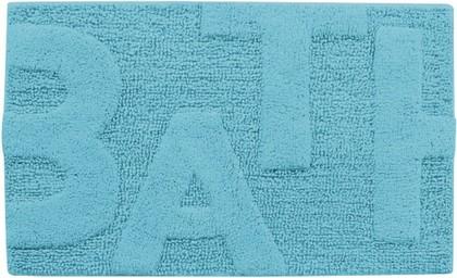 Коврик для ванной комнаты хлопковый 50x80см голубой Spirella BATH 4006921