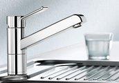 Смеситель однорычажный для кухонной мойки, хром Blanco ZENOS 517801