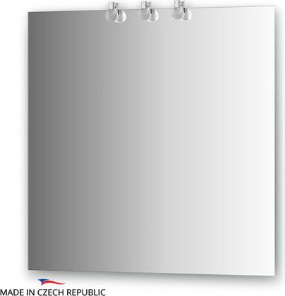 Зеркало 75х75см со светильниками Ellux CRY-B3 0210