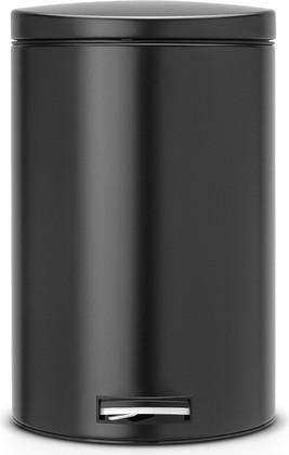 Мусорный бак 20л с педалью, MotionControl, чёрный матовый Brabantia 478345