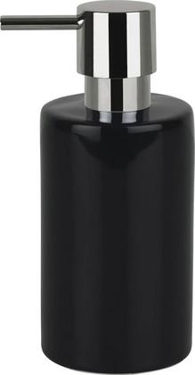 Ёмкость для жидкого мыла керамическая чёрная Spirella TUBE 1015874