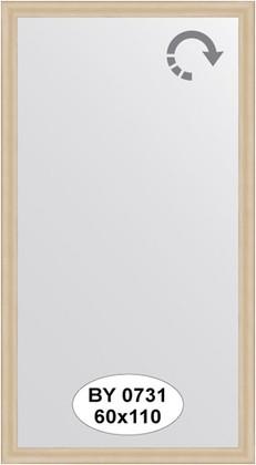 Зеркало 60x110см в багетной раме бук Evoform BY 0731