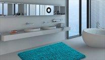 Коврик для ванной 60x90см бирюзовый Grund CORALL 2624.14.7174