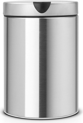 Ведро для мусора настенное 3л стальное матовое Brabantia 313264