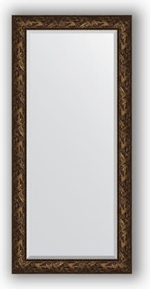 Зеркало с фацетом в багетной раме 79x169см византия бронза 99мм Evoform BY 3599