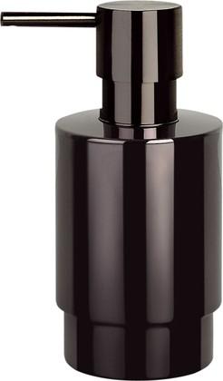 Ёмкость для жидкого мыла стальная, чёрный титан Spirella NYO 1015428