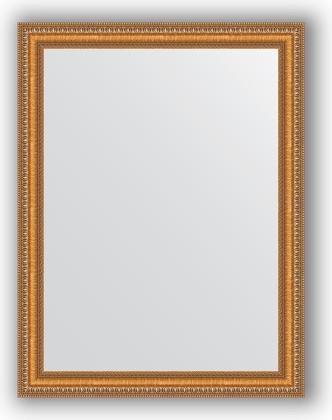 Зеркало в багетной раме 65x85см золотые бусы на бронзе 60мм Evoform BY 3170