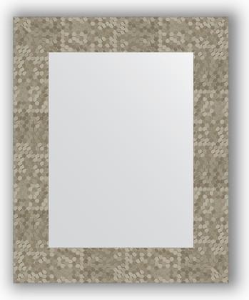 Зеркало в багетной раме 43x53см соты титан 70мм Evoform BY 3020
