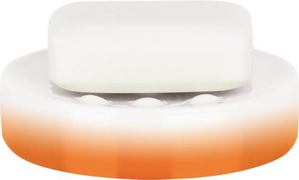 Мыльница фарфоровая оранжевая Spirella TUBE GRADIENT 1017958