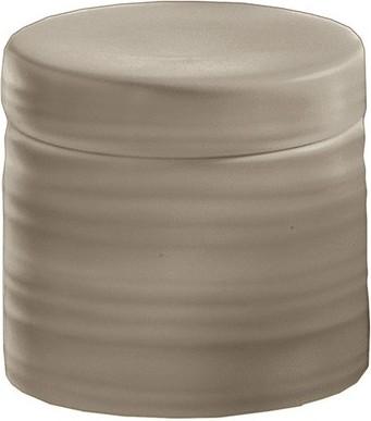 Контейнер для ватных дисков керамический песочный Kleine Wolke SAHARA 5046133873